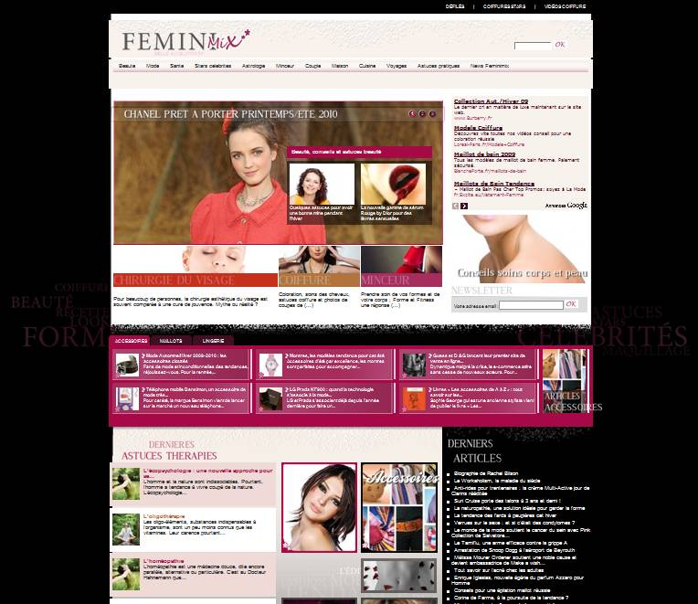 feminimix magazine f minin collectif web. Black Bedroom Furniture Sets. Home Design Ideas