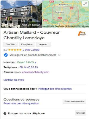 Couvreur Lamorlaye